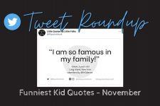 The funniest quotes from kids: November Tweet Roundup