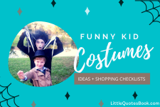 Funny DIY Kid Costumes for Halloween
